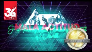J Alvarez Ft. Darell -  Pancho y Castel - Mala Actitud [Lyric Video]