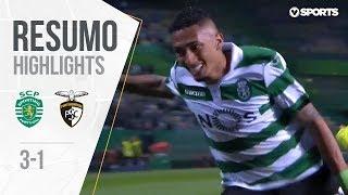 Highlights   Resumo: Sporting 3-1 Portimonense (Liga 18/19 #24)