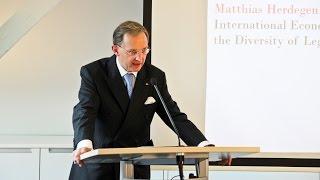 "Book launch: ""Principles of International Economic Law"