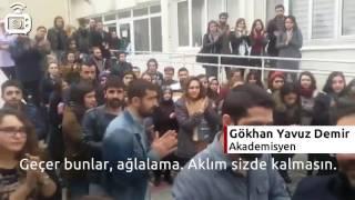 Uludağ Üniversitesi Doç Dr. Gökhan Yavuz Demir'i alkışlarla uğurladı