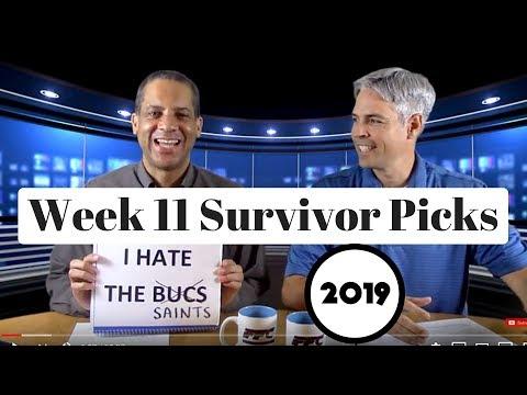 2019 NFL Survivor Pool Picks Week 11