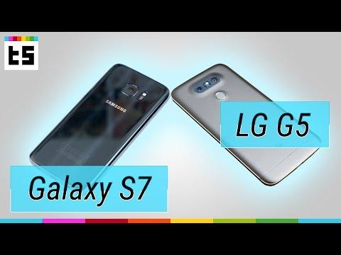 Samsung Galaxy S7 vs LG G5 (deutsch) – Vergleich