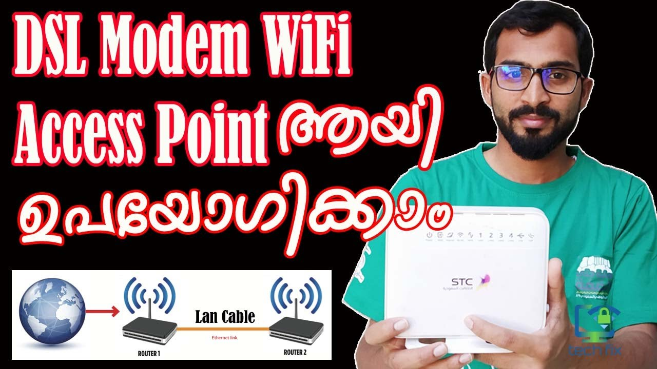 Download How to convert Old DSL Modem to WiFi Access point