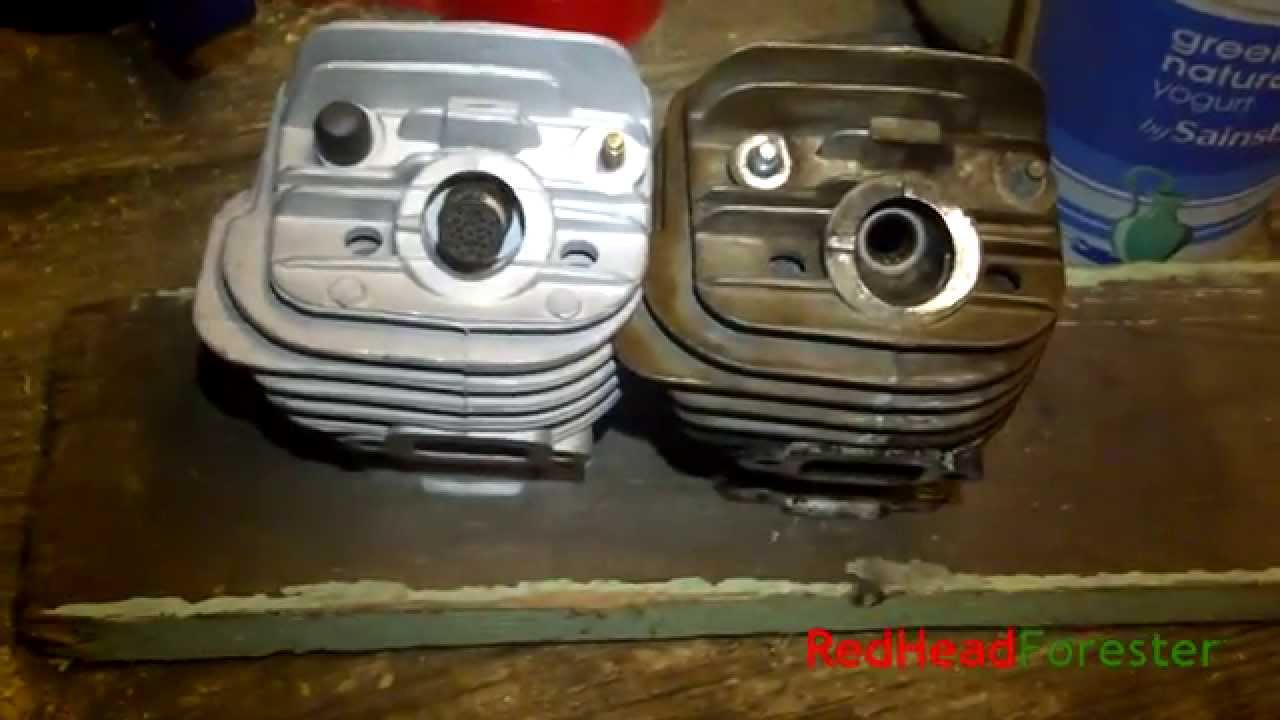 Stihl MS260 cylinder comparison: Hyway vs OEM