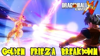 Dragon Ball Xenoverse Resurrection F DLC: Golden Frieza Breakdown! Emperor Death Beam is Amazing!!!