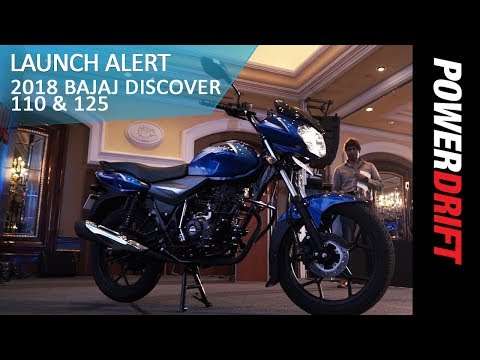 Bajaj Introduces The Discover 110 + 2018 Discover 125