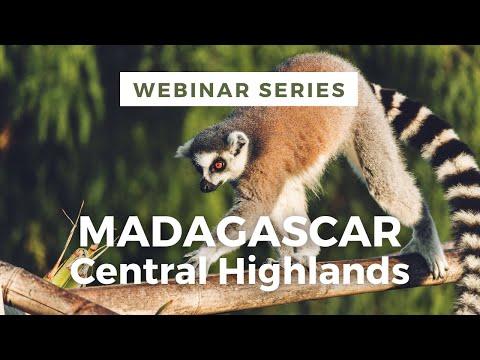 Madagascar Webinar - Central Highlands (Part Two - Jenman Safaris)