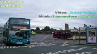 Route 110: Hall Green to Leeds (Bus Time-Lapse)