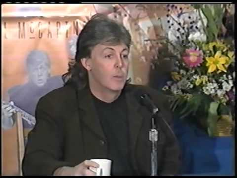 Paul McCartney Montreal Press Conference 1989