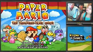 Paper Mario The Thousand Year Door - Gamecube - Gameplay em Português PT-BR