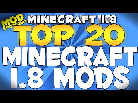 Top 20 Minecraft 1.8 Mods 2015