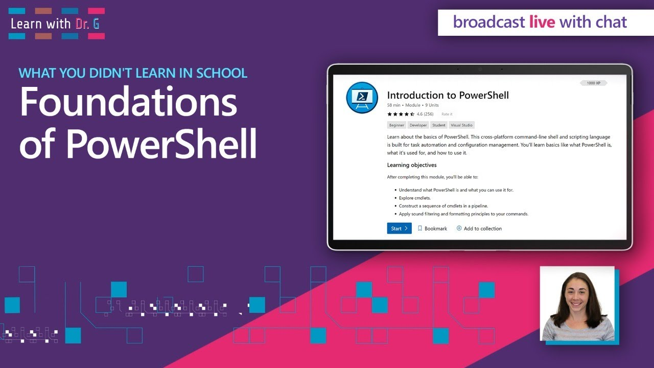 Foundations of PowerShell | Learn with Dr G