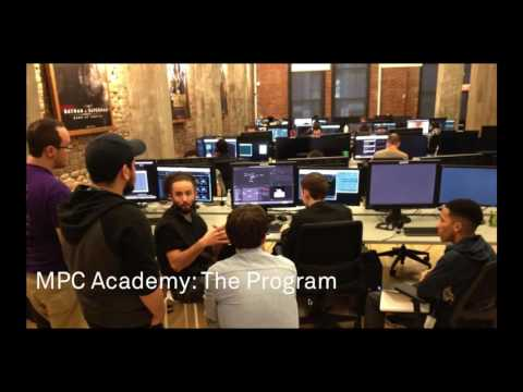 Your first role in VFX - MPC Academy Webinar 6/12/2016