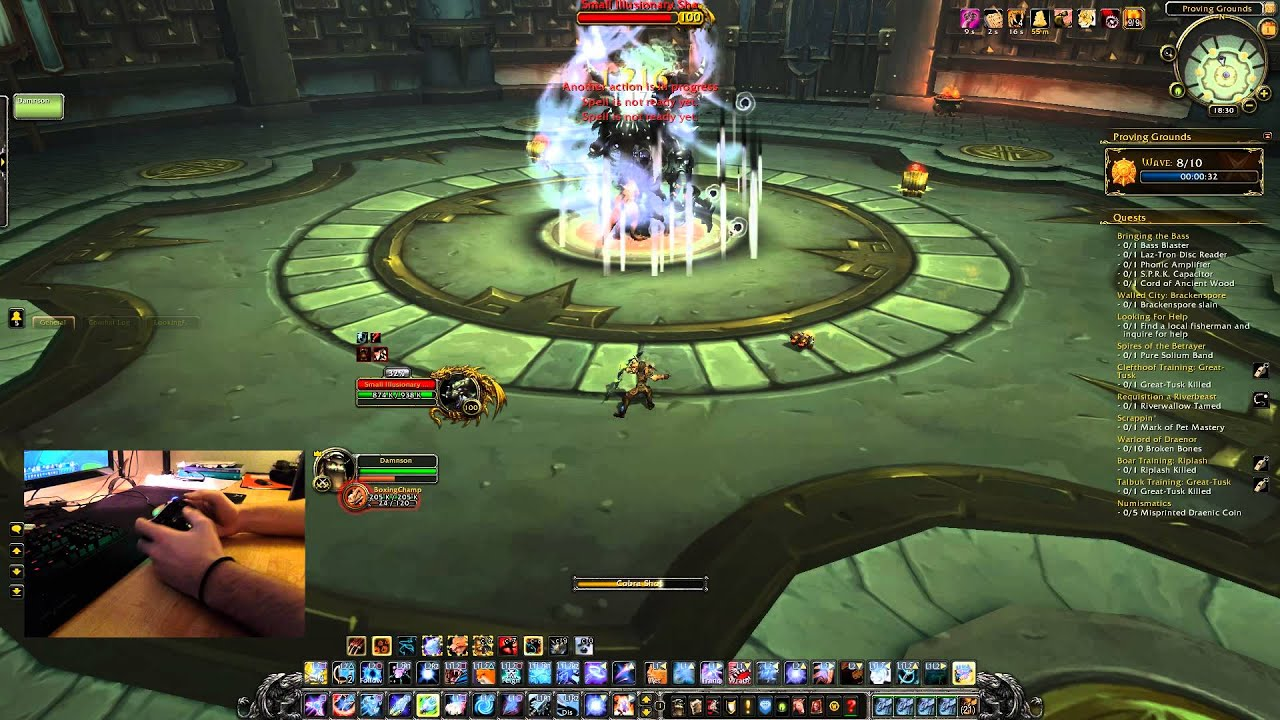 World Of Warcraft: Proving Grounds Gold With PS4