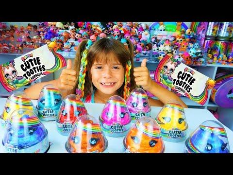 3 УЛЬТРА РЕДКИX найденo !!! НОВИНКА! Распаковка ПУПСИ Cutie Tooties и ВЕС игрушек