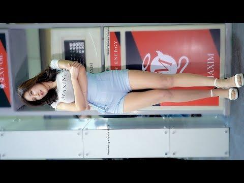 [4K] Miss Maxim KIM SARANG (미스 맥심 김사랑) 서울 모터쇼 190403 @ 직캠 Fancam By IBIZA