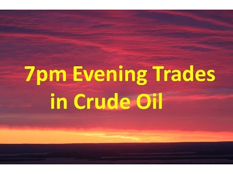 Crude Oil Commodity online trading -Evening Live Video