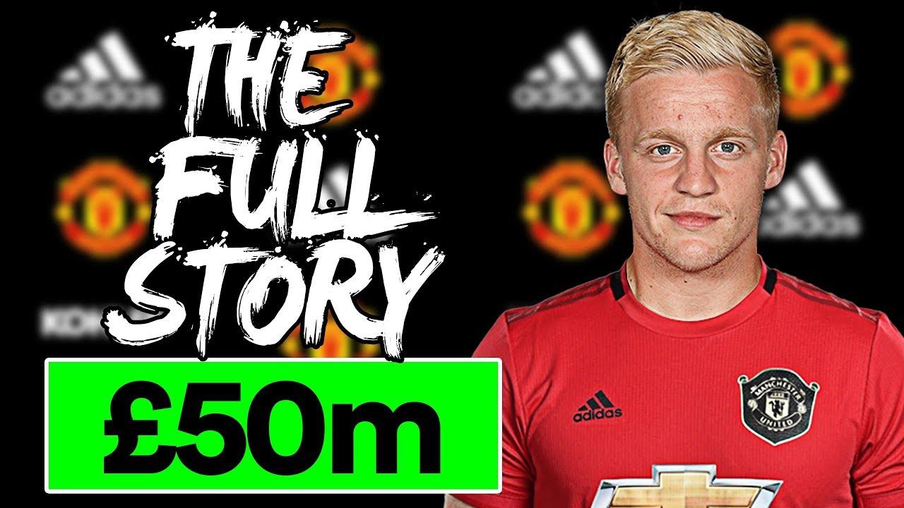 Van De Beek To Man Utd The Full Story Youtube
