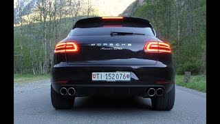 Porsche Macan Turbo | SOUND and LAUNCH CONTROL!