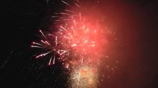 Kurayoshi Fireworks Festival 2013