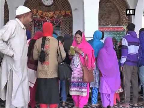 Revered shrine in J and K attracts people of different faiths - Jammu and Kashmir News