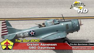 Top Gun 2010 - Oistein Aanensen, SBD Dauntless