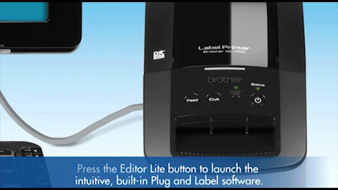 Buy the Brother QL700 Label printer ( QL700 ) online