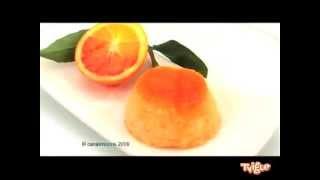 Апельсиновый пудинг с карамелью Испания