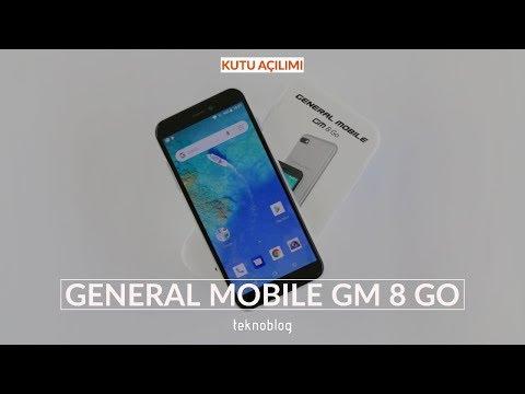 General Mobile GM 8 Go Kutu Açılışı: Android Go'dan ilk izlenimler