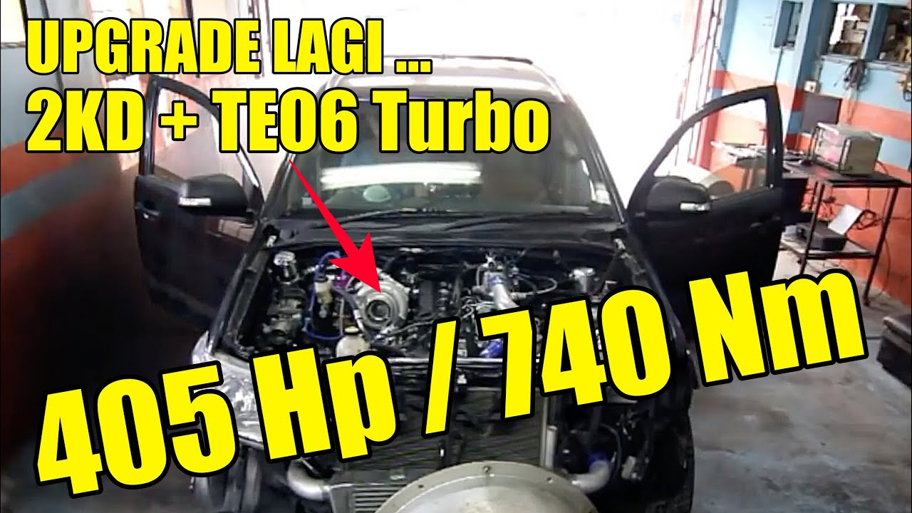 2012 toyota new hilux 2kd ftv 2 5 liter dyno session 405hp 740nm by rev engineering youtube