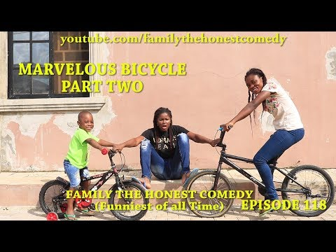 MARVELOUS BICYCLE PART TWO Mark Angel Comedy Family The Honest Comedy Episode 118