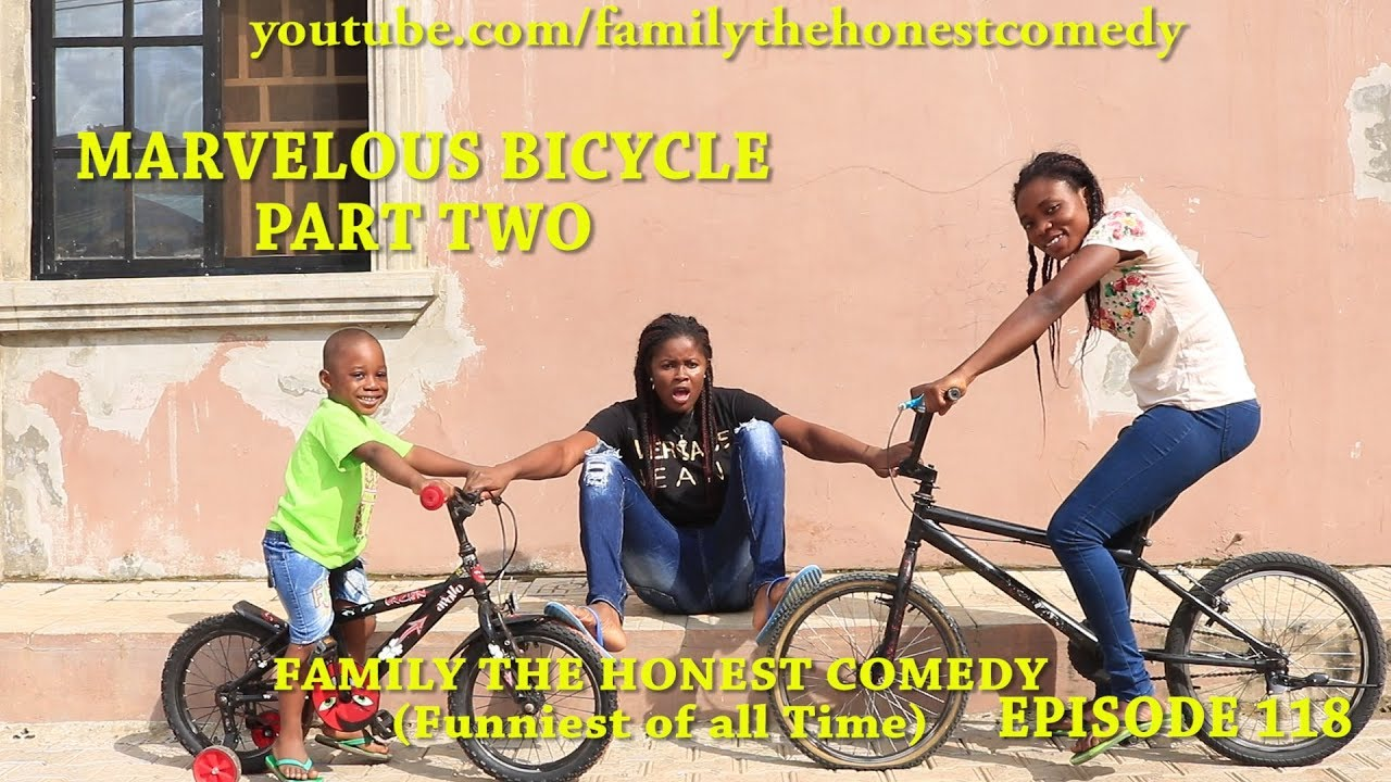 Download MARVELOUS BICYCLE PART TWO (Mark Angel Comedy) (Family The Honest Comedy) (Episode 118)