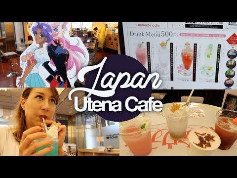 Utena Cafe! Anime Cafe Serving Utena-themed Drinks! Japan Summer 2017