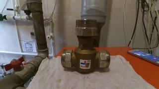трёхходовой клапан для отопления ремонт и ревизия