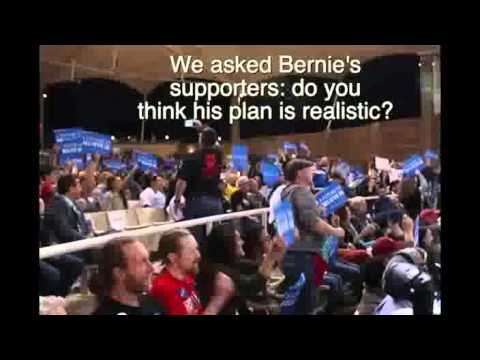 Bernie Sanders fans in Nevada want 'bold ideas' not practical politics
