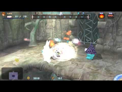 Gurumin A Monstrous Adventure Part 9 Spinach Caverns Bracken Hallow |