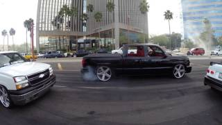 """The """"Best of 'Cruise on Central' Burnouts"""" Pt 1 4/9/16"""