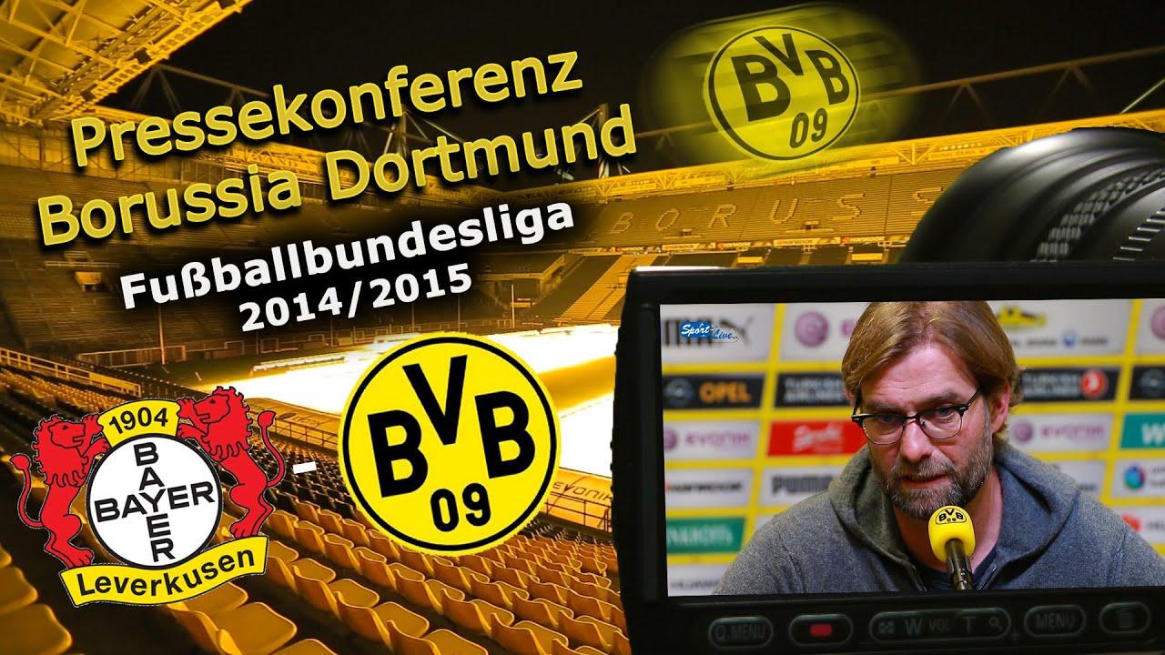 Bayer 04 Leverkusen - Borussia Dortmund : BVB-Pressekonferenz Jürgen Klopp