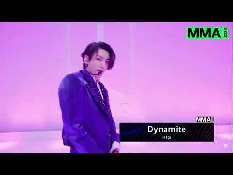 Download BTS MMA 2020 'DYNAMITE' PERFORMANCE with DANCE BREAK