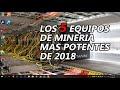 ✔ TOP 5 - EQUIPOS DE MINERIA BITCOIN MAS POTENTES 🔥🔥 (2018)