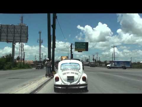 BROWNSVILLE, TEXAS, USA - MATAMOROS, MEXICO BORDER CROSSING