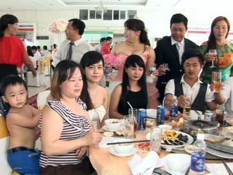 dam cuoi Huu Hung thi Lien 3
