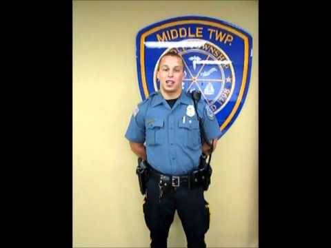 723e2eeed3 Middle Township Police Department Officer Jeff Salveson - YouTube