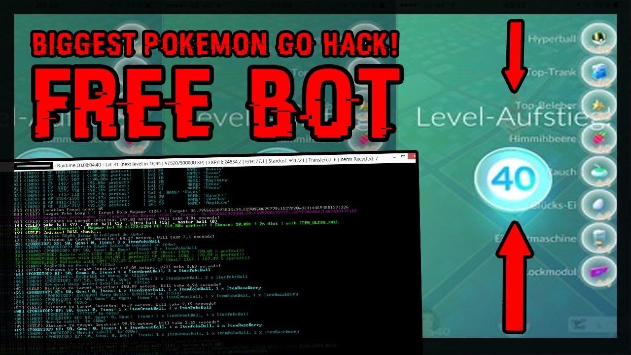 pokemon go catch bot
