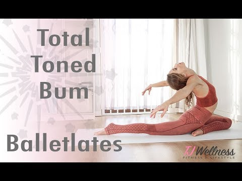 Total Toned Bum Balletlates Ballet Workout Pilates Workout Yoga Youtube