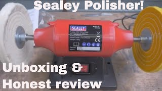 Sealey Buffing Wheel - Unboxing and Review!