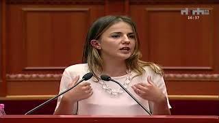 Fjalimi i Rudina Hajdarit që u duartrokit nga të gjithë