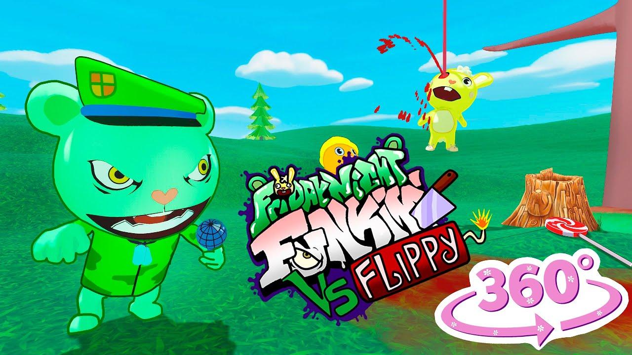 Download 360° Vs Flippy 3D Animation Friday Night Funkin' + Happy Tree Friends