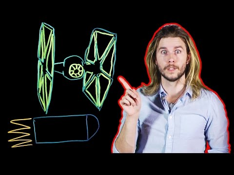 How We Already Have Real TIE Fighters (Because Science w/ Kyle Hill)