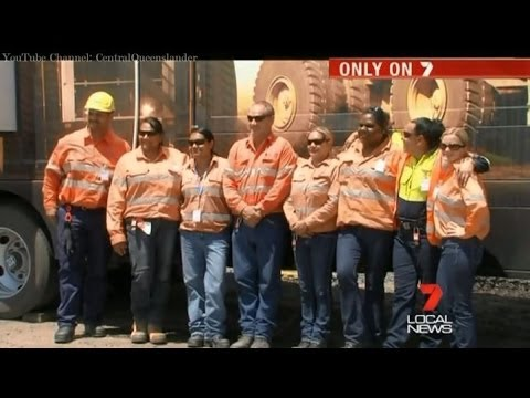 New Thiess Trainees At Lake Vermont Mine - Seven Local News Rockhampton (2013)